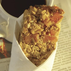 Apricot-Walnut Cereal Bars