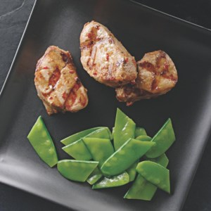 Grilled Pork Tenderloin Marinated in Spicy Soy Sauce