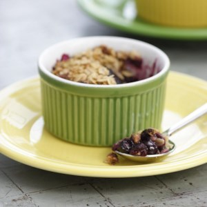 Old-Fashioned Fruit Crumble For Two