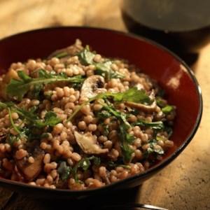 Wild Mushroom & Barley Risotto