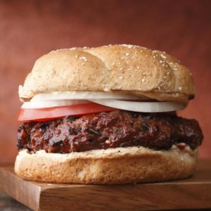 Smoky Buffalo Burger