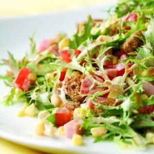 Smoky Ham & Corn Salad