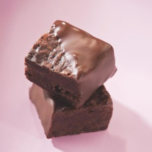 Chocolate-Covered Brownie Bites