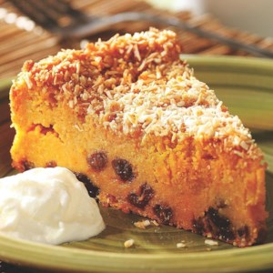 Sweet Potato Pudding Cake