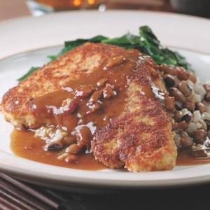 Chicken-Fried Turkey Cutlets with Redeye Gravy