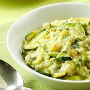 Zucchini Chile-Cheddar Mash