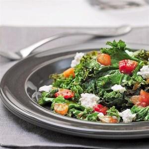 Salsa-Braised Kale