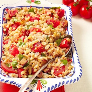 Bacon, Tomato & Farro Salad