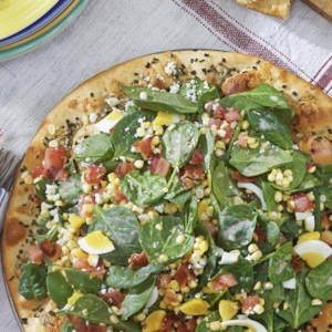 Blue Cheese & Spinach Pizz'alad