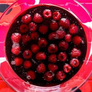 Jellied Raspberries