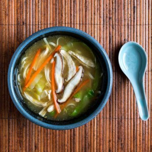 Japanese Chicken Noodle Soup