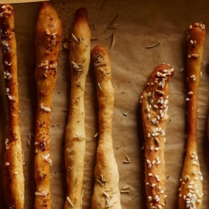 Rosemary & Garlic Breadsticks