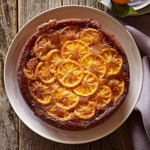 Tangerine Upside-Down Cake
