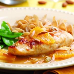 Chicken with Honey-Orange Sauce