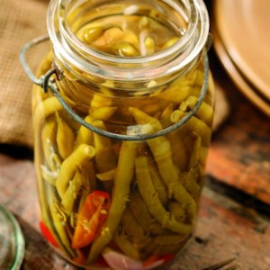 Quick Chile Dilly Beans