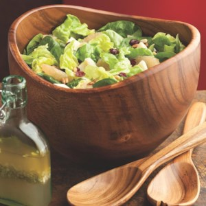 Mixed Green Salad with Grapefruit & Cranberries