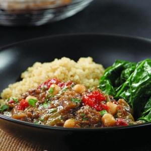 Eggplant & Chickpea Stew