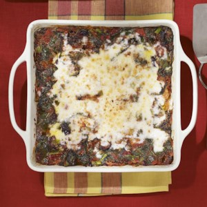 Broccoli Rabe & Turkey Sausage Lasagna