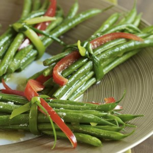 Green Bean Bundles with Garlic Browned Butter