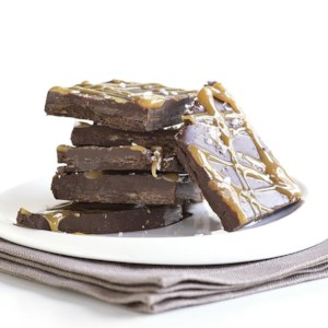Salted Caramel Chocolate Bark