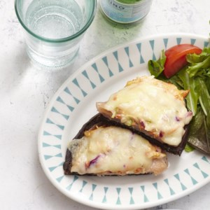 Open-Face Turkey Reubens