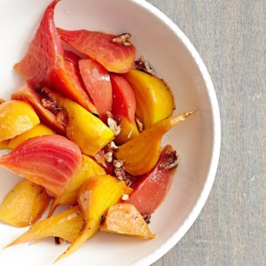 Balsamic-Glazed Beets with Pecans