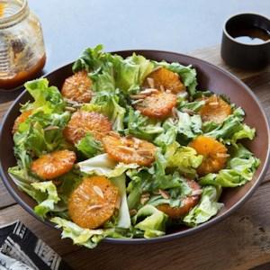 Burnt Orange & Escarole Salad