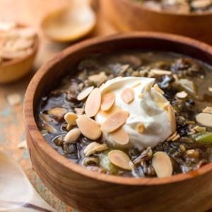 Wild Rice & Mushroom Soup