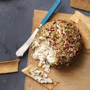 Pear-Pecan Cheese Ball