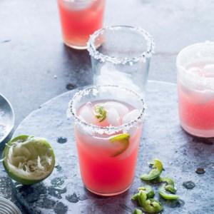 Jalapeño-Watermelon Margaritas
