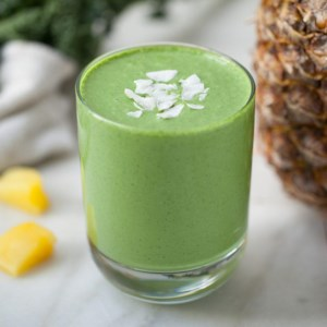 Green Pina Colada Smoothie