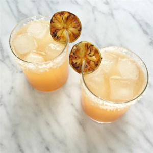 Grilled Grapefruit Paloma Cocktail