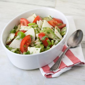 Fresh Tomatillo Salad