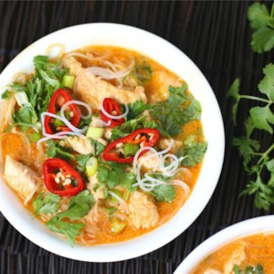 Four-Ingredient Red Curry Chicken