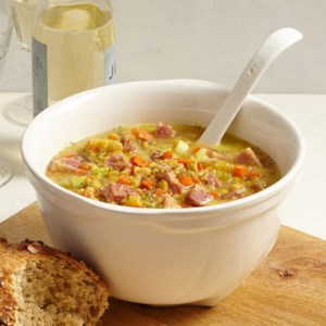Swedish Yellow Split Pea Soup with Ham