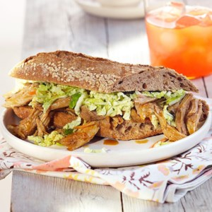 Slow-Cooker Red Curry Pulled-Pork Sandwiches