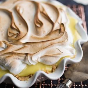 Coconut and Lemon Cream Pie