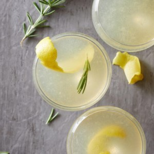 Rosemary-Ginger French 75