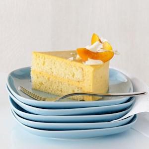 Apricot Bavarian Cream Cake