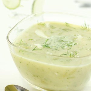 Chilly Dilly Cucumber Soup