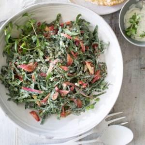 Greek-Style Spinach Salad