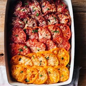Herbed Tomato Gratin