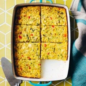 Zucchini, Corn & Egg Casserole