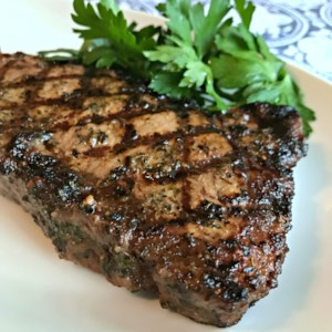 Best Steak Marinade in Existence Recipe and Video - What's the secret? Soy sauce, olive oil, lemon juice, Worcestershire sauce, garlic, and a few dried herbs. Now you know.