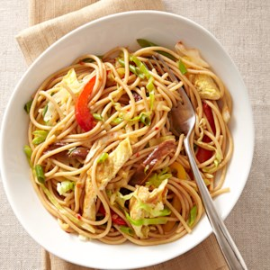 Chile-Lime Veggie Noodles