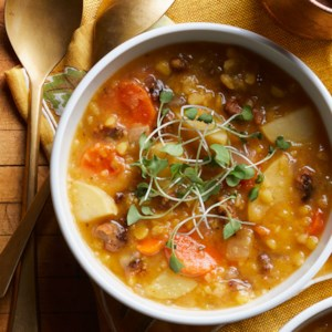 Split Pea Soup with Chorizo