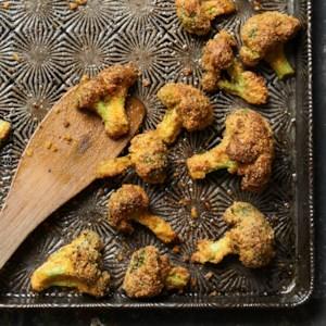 Parmesan Broccoli Bites