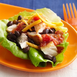Chicken Taco Lettuce Cups