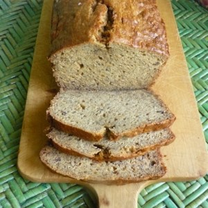 Banana Banana Bread Recipe and Video - This banana bread recipe is moist and delicious, with loads of banana flavor. It's wonderful toasted!
