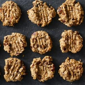No-Sugar-Added Oatmeal Cookies